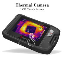 """GUIDE Pocket-Sized Industrial Thermal Camera 3.5"""" Touchscreen Thermography Camcorder Support WIFI Sharing Data Thermal Imagery"""