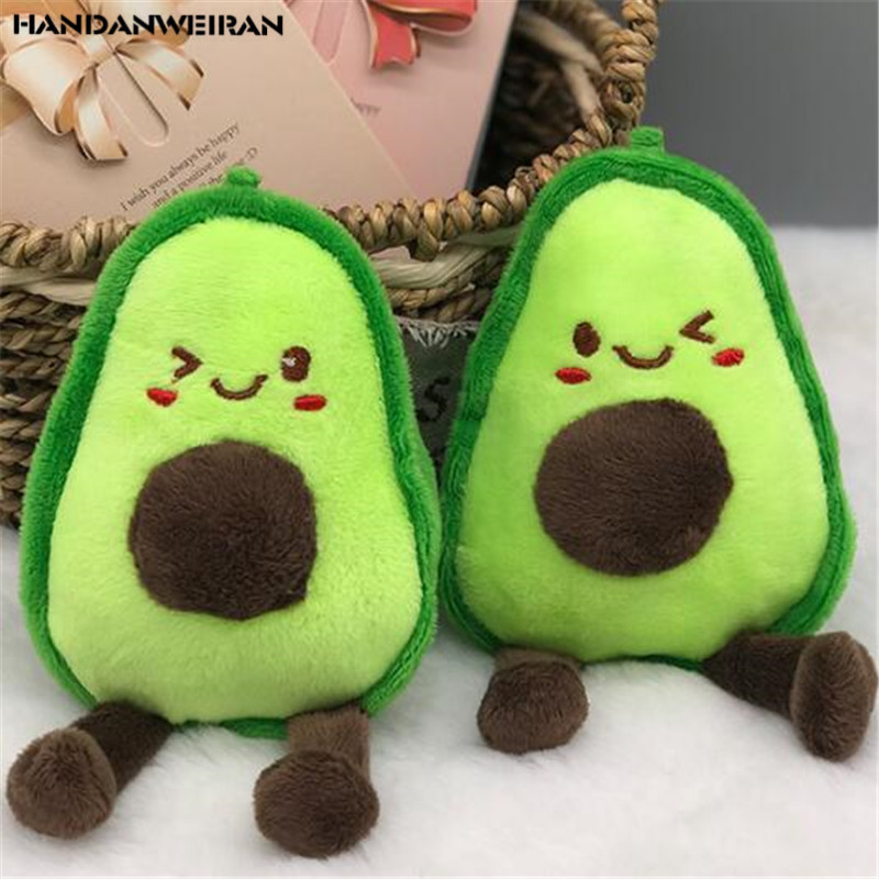 15CM New Lovely Avocado Stuffed Plush Toy Filled Doll Child Christmas Gift Girl Baby Girl Valentine's Day Present