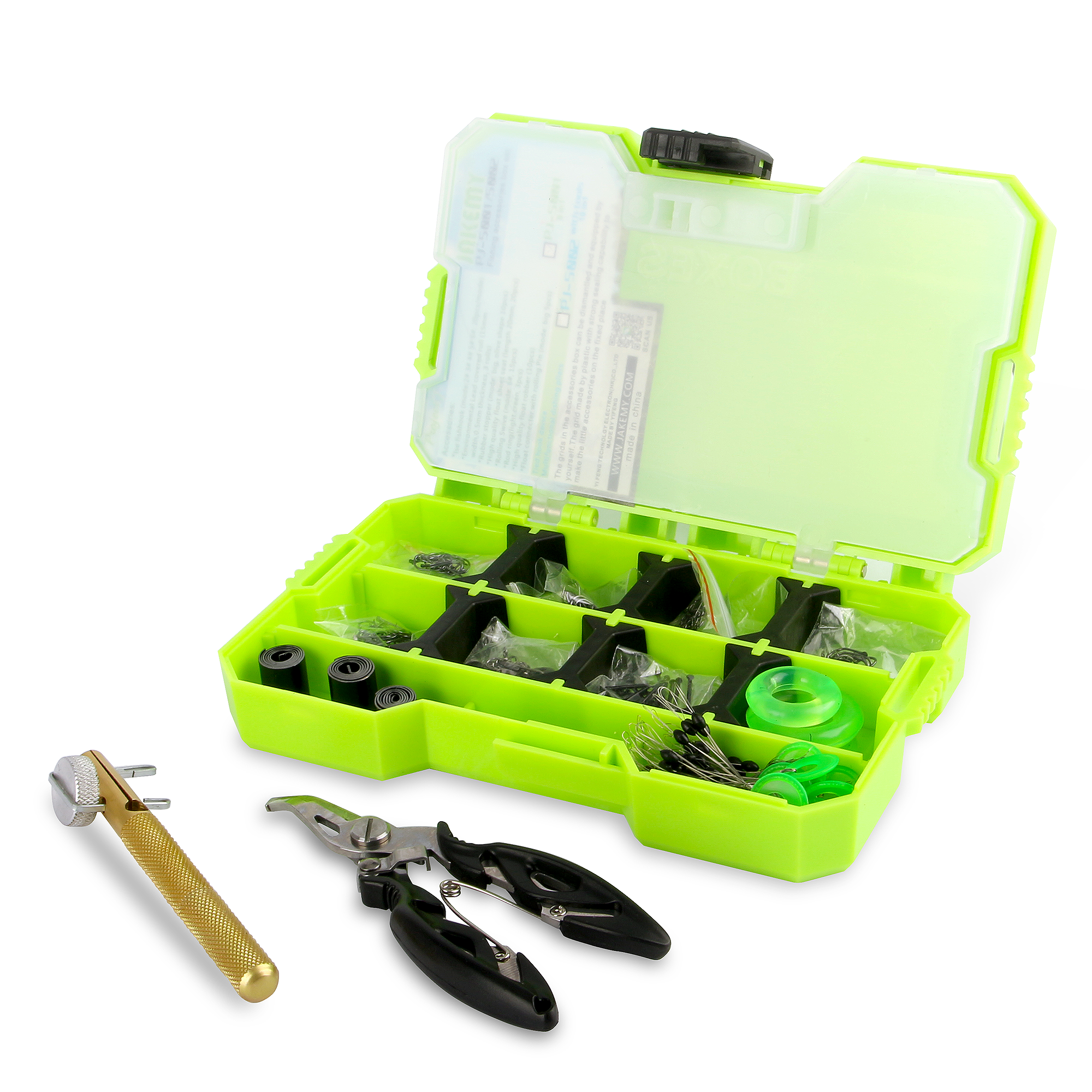 JAKEMY Fishing Tackle Box New High Quality Design Large Capacity Waterproof Double Side Low Price Carp Fishing Accessories Box