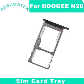 Oryginalna tacka na karty sim DOOGEE N20 do telefonu komórkowego DOOGEE N20 tanie i dobre opinie BEEKOOTEK CN (pochodzenie)