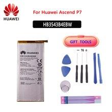 מקורי טלפון סוללה HB3543B4EBW עבור Huawei Ascend P7 L07 L09 L00 L10 L05 L11 2460mAh החלפת סוללות + כלים