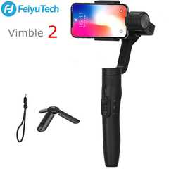 FeiyuTech Feiyu Vimble 2 3-Axis Handheld Gimbal Smartphone Stabilizer PK Zhiyun Smooth 4 183mm Pole Tripod for iPhone X 8 S9 S8