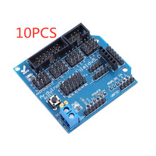 10PCS Sensor Shield V5.0 sensor expansion board UNO MEGA R3 V5 for Arduino electronic building blocks of robot parts