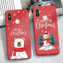 Świąteczne etui na Xiaomi Redmi Note 8 T 8 T 9 S 9 S 7 6 8 Pro 5 Plus 6A 5A 7A 8A 9A Mi uwaga 10 Lite obudowa telefonu nowy rok zderzak tanie tanio CN (pochodzenie) Aneks Skrzynki Merry Christmas Santa Claus Deer Candy Case Redmi Uwaga 5 Pro Redmi Note 5 Redmi uwaga 7