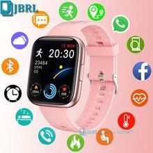 Neue Smart Uhr 2021 Männer Frauen Smartwatch Fitness Tracker Sport Wasserdichte Digital Elektronik Uhr Für Android IOS Smart Stunden