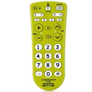 Image 4 - 1 sztuk kombinowany uniwersalny kontroler do nauki zdalne sterowanie Chunghop L108E dla TV/SAT/DVD/CBL/DVB T/AUX duży przycisk kopiowania
