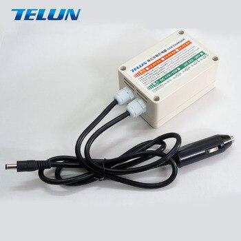Cargador de mechero TELUN para LiFePO4 (14.6V-8A) PLOMO GEL AGM 14.4V-8A 12.6V-9A 150W 1