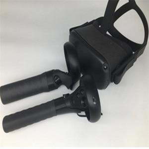 Image 1 - Handle EXTENSION ฝาครอบแขน Anti Throw Grip Gamepad Handle สำหรับ Oculus Quest/RIFT S Beat SABER เกม VR Controller อะไหล่