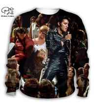 Elvis presley/3d толстовки с капюшоном; Детское пальто на молнии;