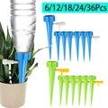 Комплект для автоматического капельного орошения, система капельного полива с шипами, регулируемое устройство для самополива цветов и рас...