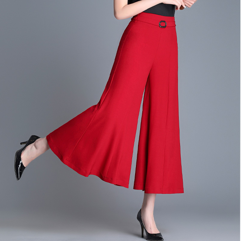 High-End 2019 Summer Cross Border Supply of Goods Korean-style WOMEN'S   Pants   Loose   Pants   Women's Thin   Capri   Casual   Pants   Factory