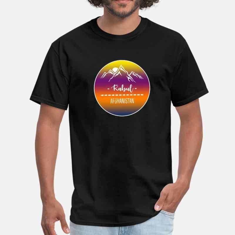 Progettazione Kabul Afghanistan T-Shirt Per Gli Uomini Donna Classic Impressionante Uomini Tee Shirt Più Il Formato S-5xl Abbigliamento Tee Top