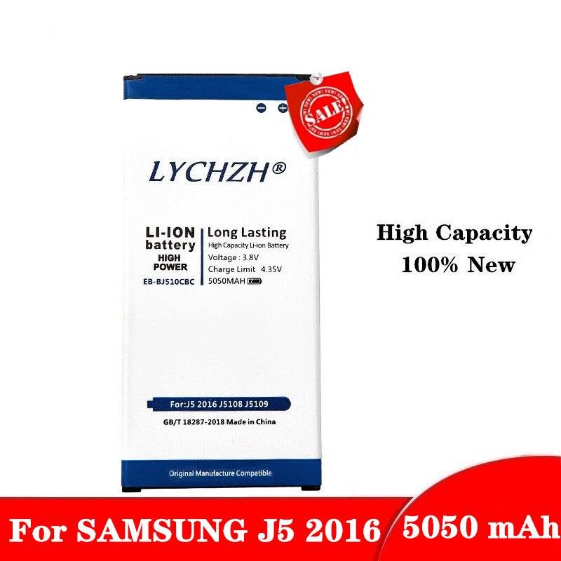 Original For Samsung Spare Phone Battery EB-BJ510CBE 5050mAh For Galaxy J5 2016 Edition J510 J510FN J510F J510G J510Y J510M