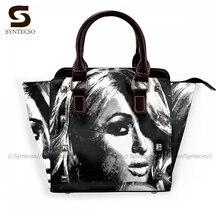 Paris Hilton Shoulder Bag Woman Fashion Handbag Retro Leather Office Bags
