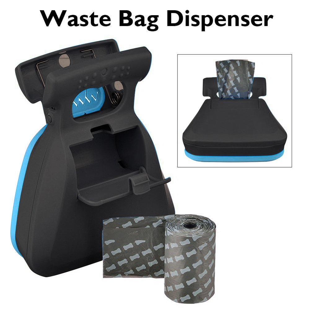 1/2/3/6/10 Rolls Dog Degradable Garbage Bag Dog Poop Bags Thick And Strong Poop Bags For Dogs For Shovel Clip