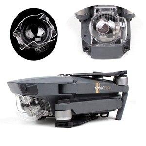 Image 2 - Lens kapağı kapağı Gimbal kamera koruma toz geçirmez koruyucu kapak DJI Mavic Pro Platinum Drone için taşıma kapağı