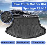 Boot Liner For Kia Sportage R 2011 2012 13 14 2015  Car styling Accessories Interior Rear Floor Trunk Cargo Waterproof Floor Mat|Floor Mats|   -