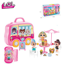 LOL doll surprise Toy car original Anime figure lol dolls ball Little girl's gift action figures model toys