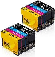 Befon 16XL wkłady atramentowe zamiennik dla Epson 16 XL kompatybilny dla Epson Workforce WF2630 WF2010 WF2510 W-2520 WF2530 WF2650
