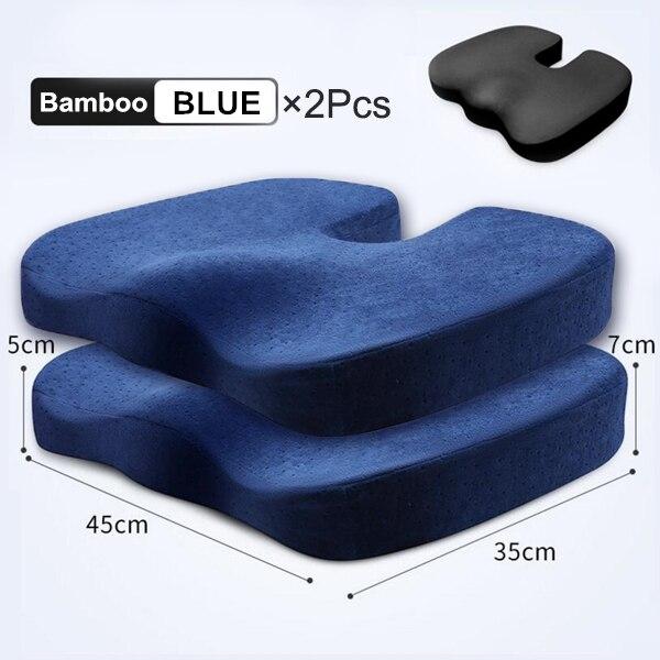 Blue Bamboo 2Pcs Set