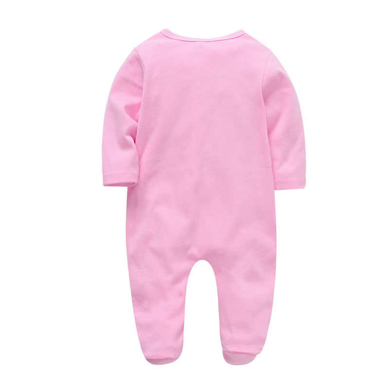 Saileroad 0-12M Animal Konijn Baby Rompertjes Pasgeboren Footed Pyjama 2020 Roupa De Bebes Baby Katoenen Jumpsuit Baby meisjes Kleding