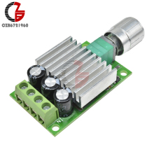 10A 12 V-30 V PWM контроллер скорости мотора постоянного тока 12V 24V Регулируемый регулятор скорости Диммер переключатель управления для мотора вентилятора светодиодный свет
