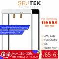 Srjtek 部品三星銀河タブ 8.0 T355 T350 SM-T355 SM-T350 タッチスクリーンガラスパネルタブレット交換