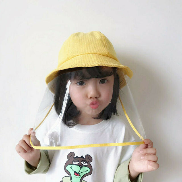 Anti Flu Protection Hat +Mask Protective Anti-spitting Anti Dust Hat Face Cover Outdoor Fisherman for Kids Adult Windproof Cap 4