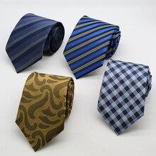 8 см мужские галстуки Пейсли жаккардовые вечернее платье Dotsgravata corbatas для свадьба галстук шеи связей для мужчин жениха галстуки