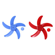 Fan Blade Pedestal-Table Fanner-Accessories with Nut-Cover for Standing 5-Leaves General-Fan