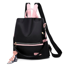 new arrival women backpack 100% genuine leather ladies travel bags preppy style schoolbags for girls knapsack holiday 2020 New Arrival Women Casual Backpack School Bags Sweet Girls Travel Bag Oxford Knapsack Fashion