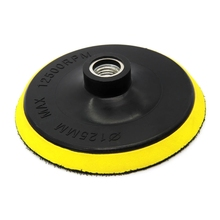 5 inch Hook and Loop Backing Pad Sanding Polishing Backer Plate with M10 Drill Adapter for Random Orbit Sander Polisher Buffer