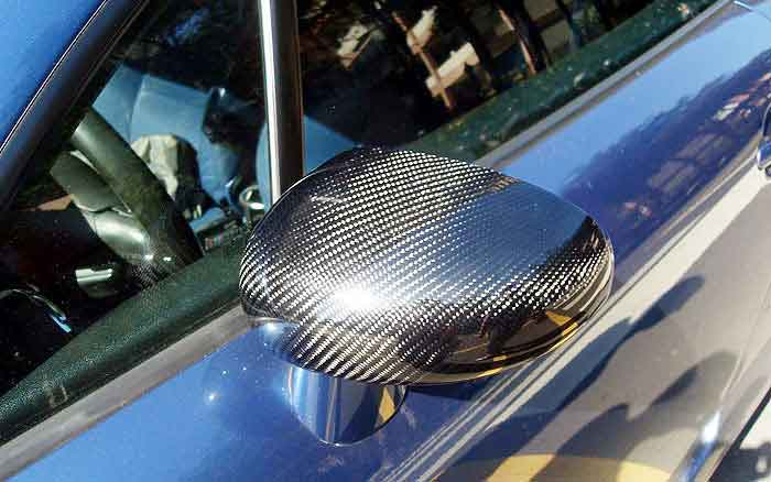 REAL CARBON FIBRE MIRROR COVER For AUDI TT 8N MK1 2000-2006 A088M