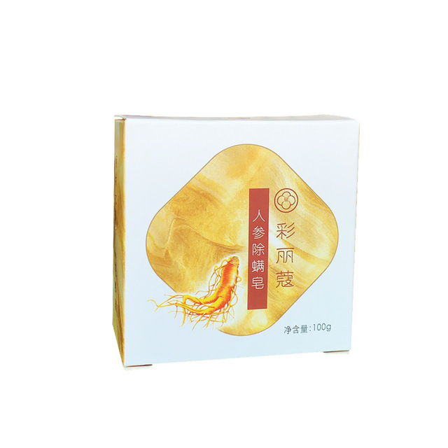 Ginseng Soap Goat Milk Sea Salt Wash Face Cleansing Handmade Soap Oil Control To Mite Soap 1