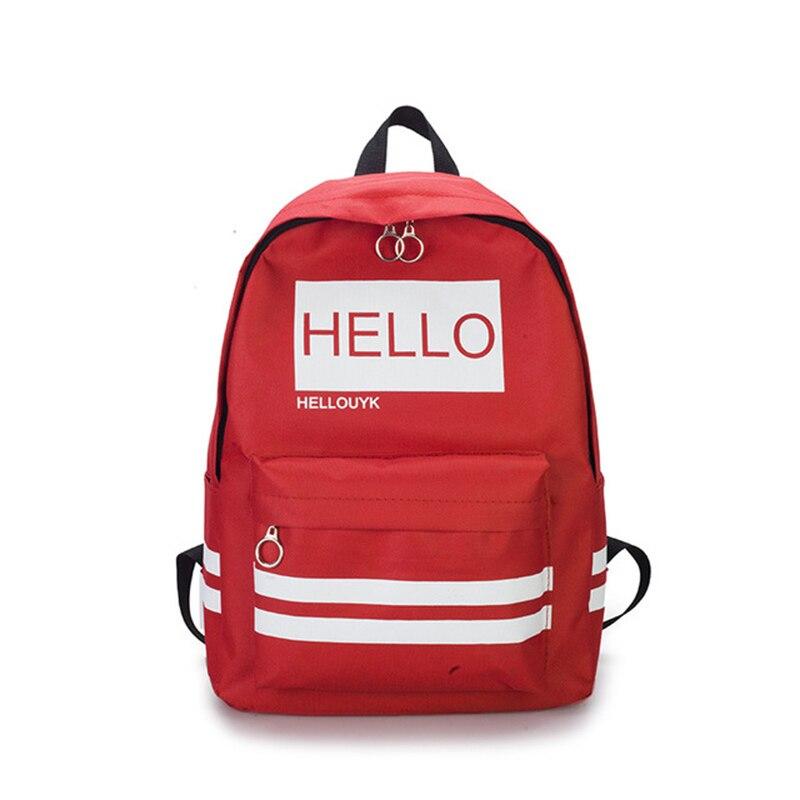 Backpack For Women Canvas Casual Shoulder Bags Designer For Teenagers Girls College School Backpack Mochila Feminina Plecak