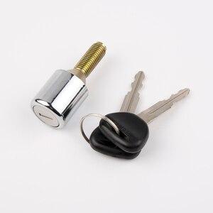 Image 2 - بينيكار قفل الإطارات الاحتياطية مع مفتاح OEM لميتسوبيشي باجيرو/مونتيرو 1990 1999