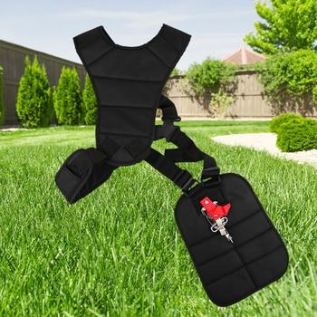 1 шт. садовая газонокосилка, универсальный плечевой ремень, роскошный ремешок, Бортовая косилка, триммер, садовый газон, черный ремень