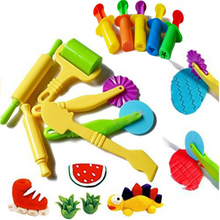 Colour Play Dough Model Tool Toys Creative 3D Plasticine Tools Playdough Set, moldes de arcilla Deluxe Set, Learning & Education Toys
