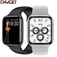 CHYCET Original IWO HW22Plus Smart Uhr 2021 44MM Serie 6 Zifferblatt Call Herz Rate Fitness Tracker Sport Smartwatch Männer frauen