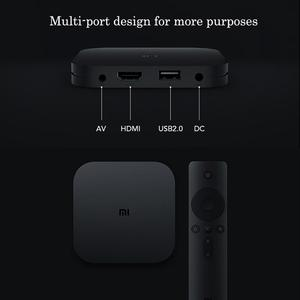 Image 5 - Xiaomi Mi Box 4C 4K HDR TV Box Android 6.0 Amlogic Cortex A53 Quad Core 64bit 1G+8G 2.4GHz WiFi Set top Box Chinese Version