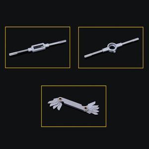 Image 5 - Ferramentas métricas ajustáveis para torneira, 40 unidades, suporte de rosca, chave de fenda, suporte de plástico para torneira t alça reparação de leitura