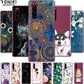 Für Sony Xperia 5 / 5 II Fall Silikon Weichen TPU Telefon Fall Für Sony Xperia 1 / 1 II / 10 II Zurück Abdeckung für Xperia 1 III / 10 III