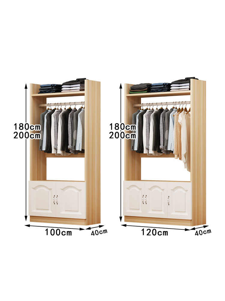 Modern Diy Unit Combination Bedroom Furniture Metal Frame Wooden Clothes Armoire Wardrobe For Bedroom Wardrobes Aliexpress