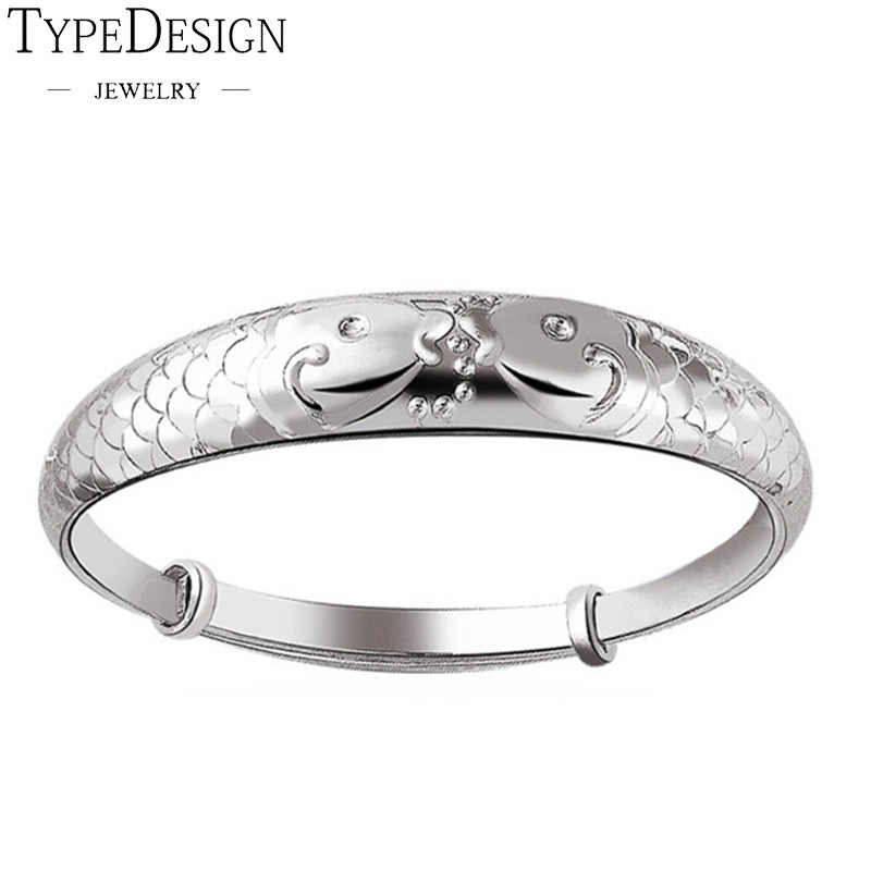 999 fine silver bracelet lovely female models factory direct wholesale jewelry silver Colour women jade bracelet t Pisces