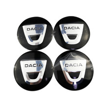 For Dacia Logan Dokker Duster Sandero Lodgy Auto Center Hub Cap Cover Sticker Metal Badge Decals Car Styling Exterior Decoration car styling metal car sticker accessories case for dacia duster logan sandero lodgy pads interior accessories car styling