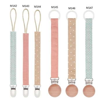 Children Pacifier Clips Chains Soother Holder Baby Pacifier Dummy Nipple For Chupetas image