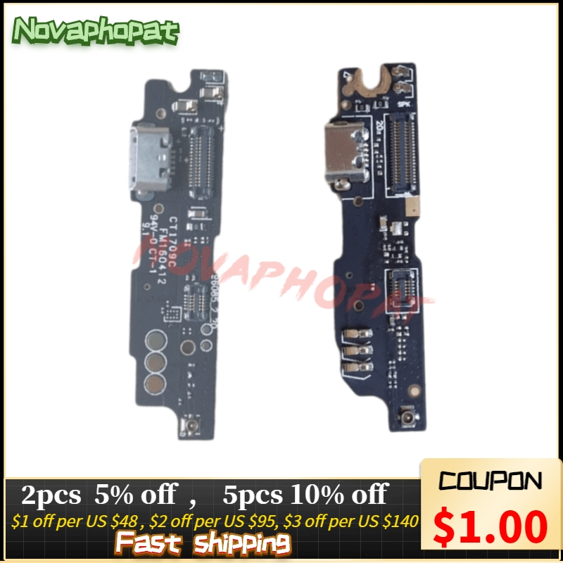 Novaphopat For Meizu M3 Note L681H / M681H M681Q Charger Port USB Dock Charging Port Data Transfer Connect Connector Flex Cable