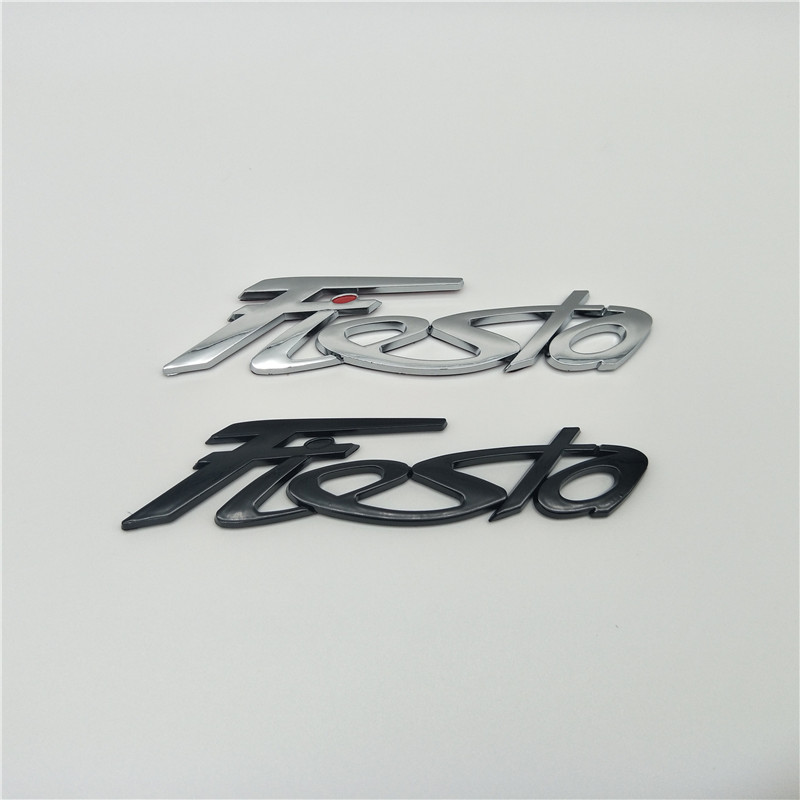 For Ford Fiesta Rear Gate Hatchback Emblem Logo Badge Sign
