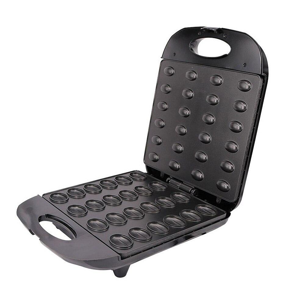 EU Plug Electric Walnut Cake Maker Automatic Mini Nut Waffle Bread Machine Baking Breakfast Pan Oven