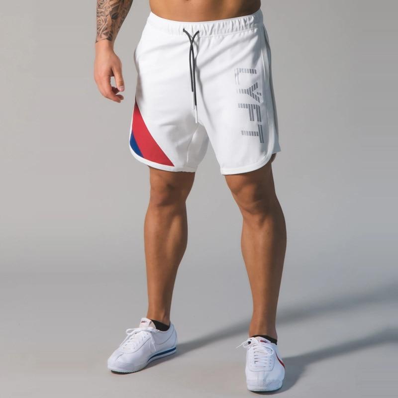 2020 Men Shorts Sport LYFT Trousers Quick Dry Beach Shorts Bodybuilding Sweatpants Fitness Short Joggers Casual Gym Men Shorts